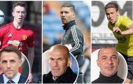 11 huyền thoại và quý tử nổi tiếng nhất giới bóng đá hiện tại