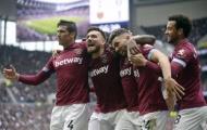 Đánh bại Tottenham, West Ham trở thành đội bóng đầu tiên làm được điều này