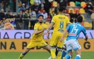 Mertens ghi bàn, Napoli đẩy Frosinone tiến gần đến Serie B