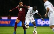 Thất bại trước Torino, AC Milan bị đánh văng khỏi top 4