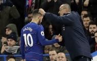 Sarri: 'Dù Hazard có ở lại hay không, tôi vẫn sẽ là người đầu tiên tôn trọng quyết định đó'