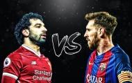 Mo Salah và Leo Messi: Đơn giản là không cùng đẳng cấp