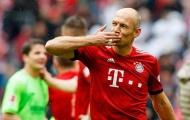 Robben trải lòng đầy xúc động sau 5 tháng trở lại sân cỏ