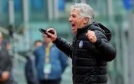 HLV Gasperini tự hào khi đội bóng của ông làm được điều không tưởng