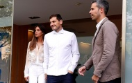 Iker Casillas tươi tắn xuất viện, chưa rõ khả năng trở lại sân cỏ