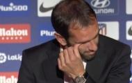 Diego Godin bật khóc trong ngày chia tay Atletico Madrid