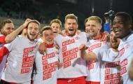 Lập hattrick, tiền đạo kỷ lục đưa Cologne trở lại Bundesliga