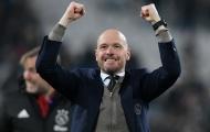 Huyền thoại AC Milan tiến cử HLV Ajax cho…Inter Milan, Barca