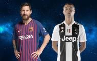 Ronaldo - Messi và cái lắc đầu bất lực ở Champions League