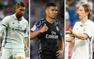 Cái tên nào sẽ trụ lại Real mùa này?