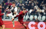 Đội hình ra sân dự kiến ở màn so tài AS Roma - Juventus