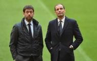 Gặp ban lãnh đạo Juventus, tương lai của Allegri sắp sáng tỏ