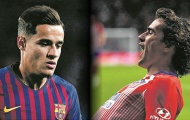 Griezmann gia nhập Barca đẩy 1 siêu sao tới Man Utd