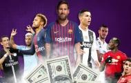 10 thương hiệu đắt giá nhất thế giới: M.U mất ngôi đầu, Arsenal bị vượt mặt