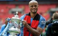 Kompany ở đâu trong những đội trưởng vĩ đại của Premier League?
