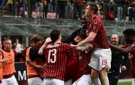 Đánh bại Frosinone, AC Milan tiếp tục nuôi hi vọng trở lại UEFA Champions League