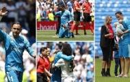 Fan Real phản ứng ra sao sau trận đấu cuối cùng của Navas?