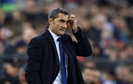 Liên tục nhận 'hung tin', Valverde đứng ngồi không yên trước thềm Copa del Rey