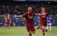 Tiết lộ bến đỗ trong mơ của De Rossi sau khi rời AS Roma