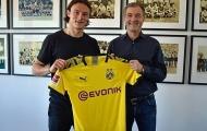 CHÍNH THỨC: Dortmund đón tân binh mùa hè đầu tiên