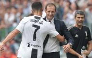 """""""Bộ não"""" của Juventus nói điều bất ngờ về Ronaldo và Allegri"""