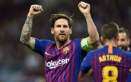 Top 10 cuộc đua chiếc giày vàng châu Âu: 99% vinh danh Lionel Messi