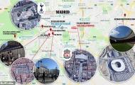 Thủ đô Madrid sẵn sàng chào đón cuộc đổ bộ của người Anh