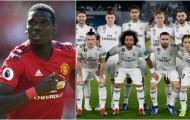 Real ra đề nghị khủng lấy Pogba, cho M.U 5 tùy chọn cầu thủ + tiền tấn