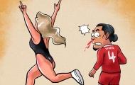 Biếm họa: Captain Solsa giải cứu Arsenal; Món quà hoàn hảo để lại Chelsea
