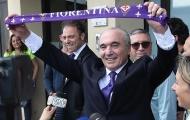 Tân Chủ tịch ra mắt, người hâm mộ Fiorentina có hành động khó tin