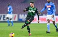 Sassuolo chốt giá cuối cùng cho AC Milan trong thương vụ Sensi