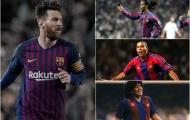 Đội hình 11 siêu sao Nam Mỹ xuất sắc nhất trong lịch sử Barca: Hàng công cực khủng