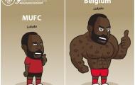 Biếm họa: 'Bóng ma' ám ảnh Messi; Lukaku 'lừa dối' M.U