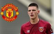 Chấm dứt! Rõ vụ Declan Rice gia nhập Man Utd