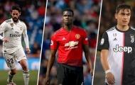 5 ngôi sao có khả năng trao đổi với Pogba của Man Utd