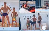 'Hổ phụ sinh hổ tử' - Con trai Ronaldo hành động giống bố