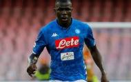 Tin vui cho Man Utd, Man City từ bỏ Koulibaly