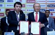 Hợp đồng mới của thầy Park: Thuật đàm phán và công nghệ lăng xê