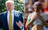 Donald Trump khẩu chiến với nữ tuyển thủ bóng đá Mỹ