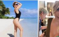 Vợ Icardi, Wanda Nara gây xôn xao mạng xã hội với hình ảnh mới nhất