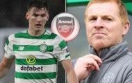 Arsenal kỳ kèo bớt 1 thêm 2, HLV Celtic nói thẳng 1 lời vụ Tierney