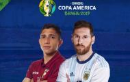 Nhận định Venezuela vs Argentina: Thắng chật vật, Messi cùng đồng đội vào bán kết?
