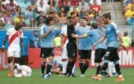 3 lần bị từ chối công nhận bàn thắng, Uruguay bị loại đau đớn trong loạt sút luân lưu