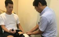 Hôm nay, Đình Trọng trở về Việt Nam để điều trị chấn thương