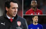 Hết tiền mua 'sao bự'? Đã có 3 cái tên miễn phí chờ Arsenal chiêu mộ