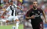 Gonzalo Higuain và nỗi ám ảnh từ 'siêu khắc tinh' Cristiano Ronaldo