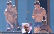 Gareth Bale lộ body 'khủng' bên cạnh hôn thê Emma-Rhys Jones
