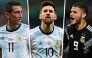 Nhân sự Argentina sau Copa America 2019: Di Maria 'out', Messi 'in'?