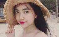 Bỏng mắt với bạn gái mỹ nhân của trò cưng thầy Park