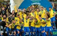 Phạt đền, thẻ đỏ cũng không ngăn nổi Brazil đoạt chức vô địch Copa America